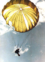 US Army Ranger Parachuting