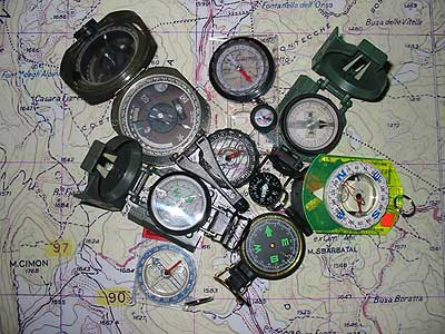 Different Compass's