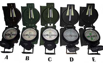 how to read a military compass