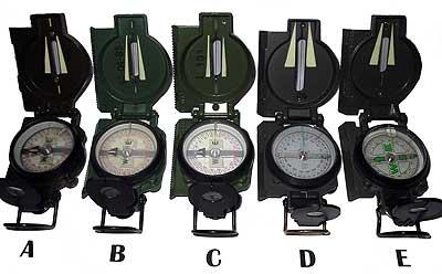 Compasses and Map Protractors at survivaloutdoorskills.com dfea6037856a
