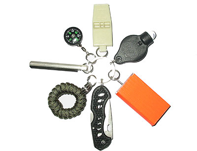 Keychain Survival Kit